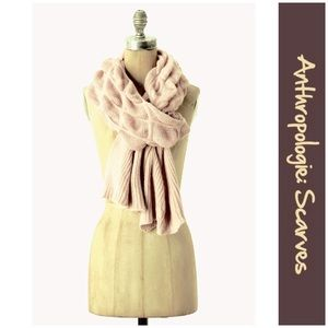 "Anthro ""Baffled Box Scarf"" by Renee's NYC"
